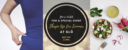 Shape up For Summer Info Evening!