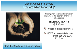 DCS Kindergarten Round-Up
