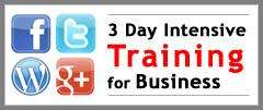3 Day INTENSIVE Social Media Course Sydney - July 2014