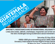 Guatemala: No Going Back! One-day conference on...
