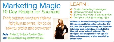 Marketing Magic: 10 Day Recipe for Success - Ottawa...