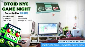 Destructoid NYC Game Night, Presented by Disqus