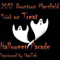 Trick or Treat and Haloween Parade in Downtown Mansfiel...