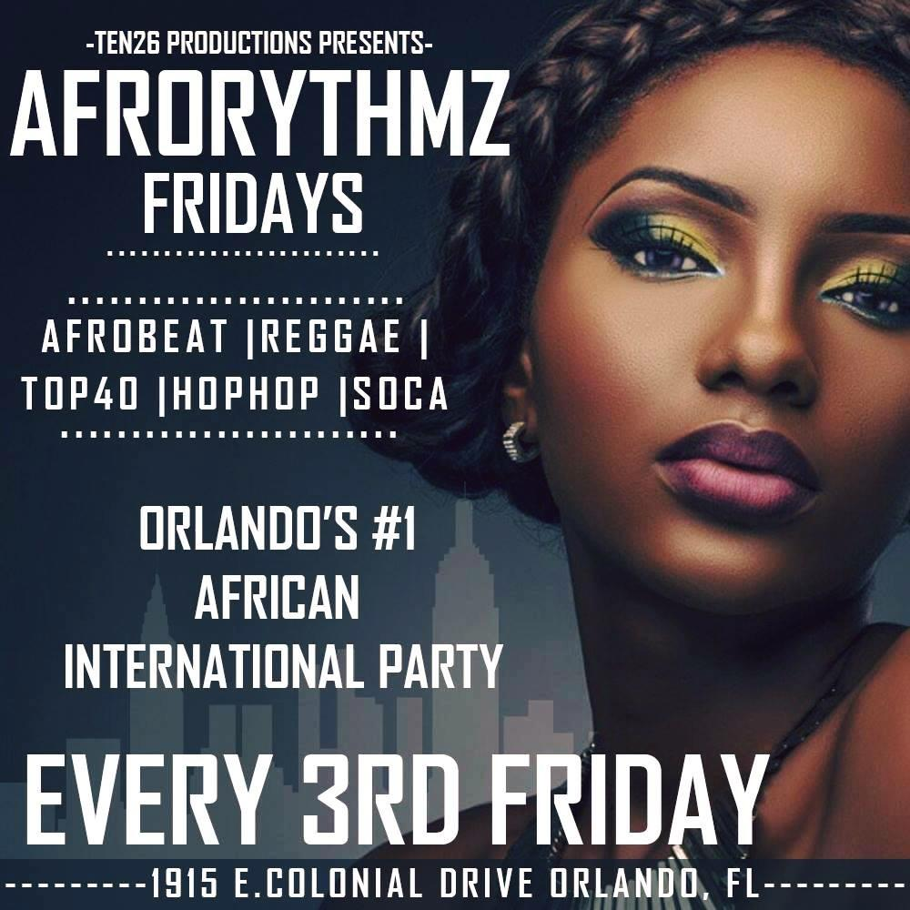 AfroRythmz Fridayz