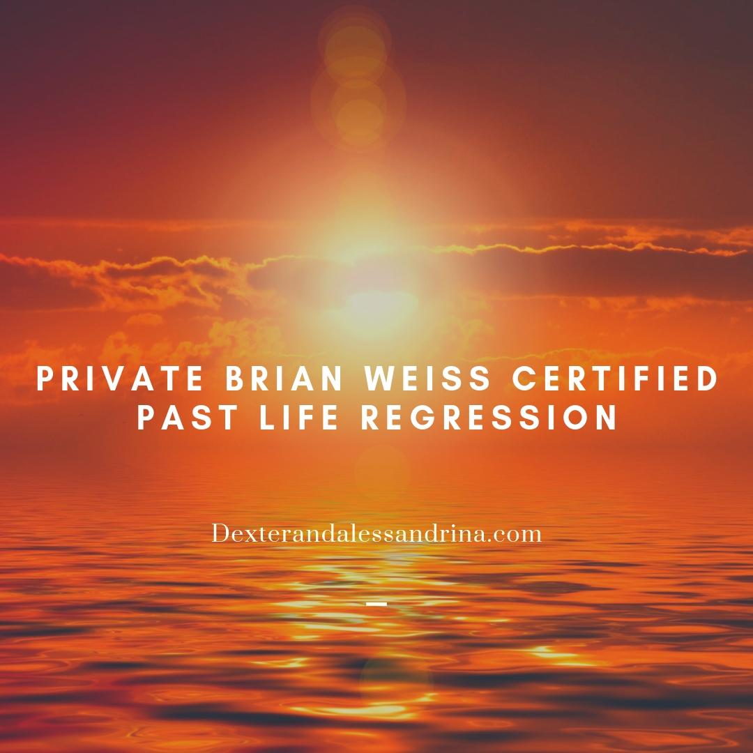 Private Dr Brian Weiss Certified Hypnosis Past Life Regression Sessions | Online