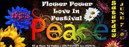 Flower Power Love-in Festival and Bhakti Dance