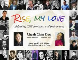 RISE, MY LOVE - A celebration of LGBT composers and...