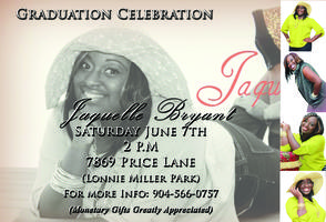 Jaquelle Graduation Celebration Party