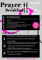 Prayer Breakfast & Prosper in Business Seminar
