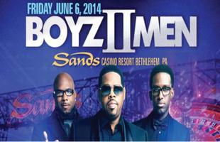 Boys II Men Live at Sands Casino & Resort Concert Bus...
