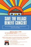 Save the Village Benefit Concert