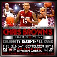 Celebrity Basketball Game : : Chris Brown's Team...