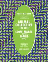 ANIMAL COLLECTIVE dj set + SLOW MAGIC + SOPHIE live...