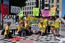 Sierra Club LA Beyond Coal Campaign logo