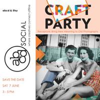 Sydney abcd social and Etsy Craft Party