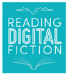 """Reading Digital Fiction"" project at SHU logo"