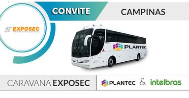 CARAVANA EXPOSEC - PLANTEC E INTELBRAS - CAMPINAS