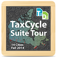 TaxCycle Suite Tour 2014 - Moncton