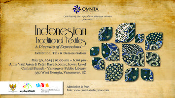 Gathering for the Indonesian Textiles Exhibition