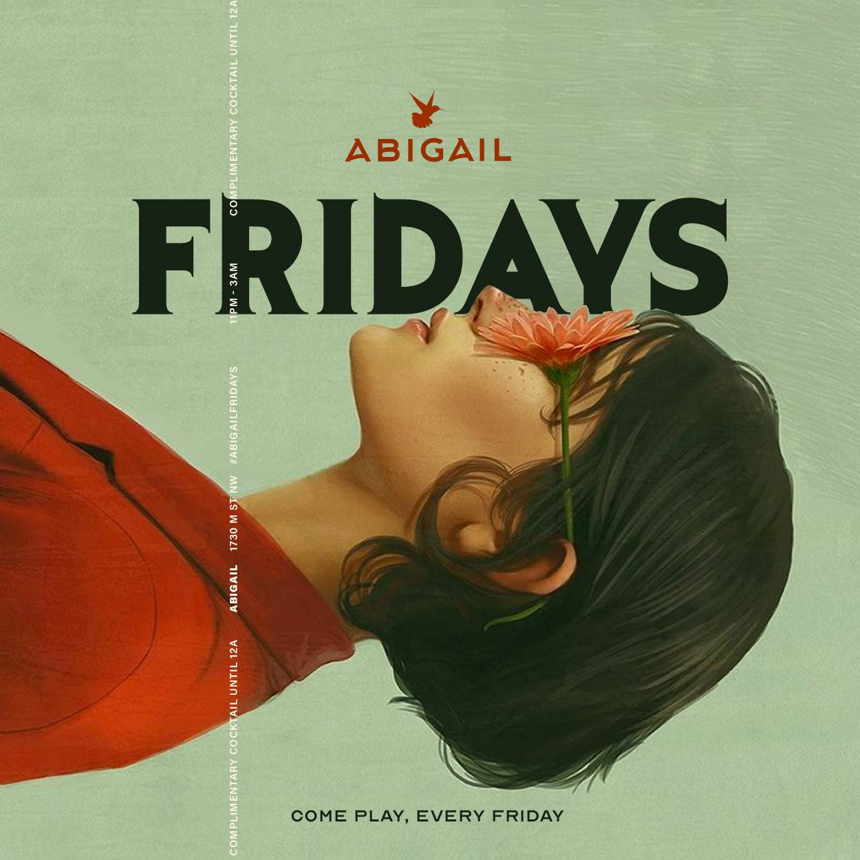 ABIGAIL FRIDAYS || HIP-HOP FRIDAYS