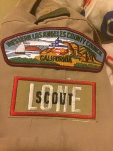 LA Lone Scouts  logo