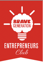 The Bravegeneration Entrepreneurs kids club logo