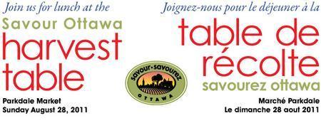 Savour Ottawa Harvest Table