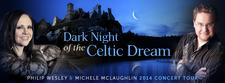 """Dark Night Of The Celtic Dream"" Tour with Philip Wesley and Michele McLaughlin logo"