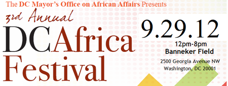 3rd Annual DC Africa Festival