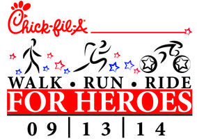 Chick-fil-A Walk, Run & Ride for Heroes