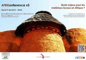 AFRIKonférence #3 : Quels enjeux pour les matériaux...