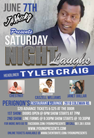 "J.YOUNG PRESENTS "" SATURDAY NIGHT LAUGHS"""