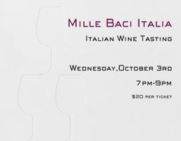 Mille Baci Italia | Tasting