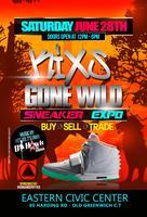 KIXS GONE WILD sneaker expo
