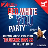 Red, White & YOU Rooftop Party. Hosted By Z100's Carla...