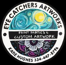 with Katie Hughes logo