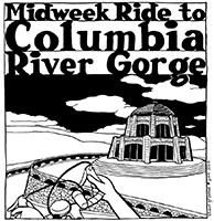 Midweek Gorge Bicycle Ride 2014