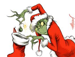 Santa's vs. Grinches Christmas Scenario