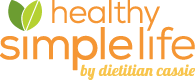 Healthy Simple Life by Dietitian Cassie logo
