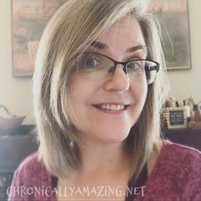 Sally Farrington of Chronically Amazing logo