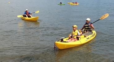 Free Kayaking at Stuy Cove - August 2014