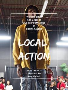 Local Action logo