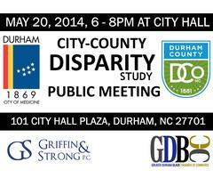 Durham Disparity Study on Procurement - Town Hall...