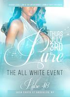 PURE All White Affair