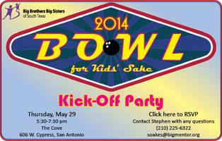 Bowl for Kids' Sake 2014 Kickoff Party!!