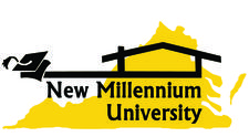New Millennium University logo
