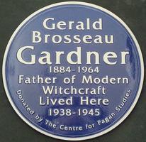 Unveiling of Gerald Gardner Blue Plaque - Evening Talk...