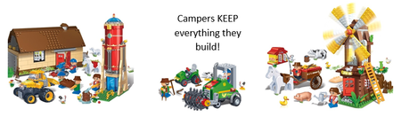 Farmland Fun Building Block Camp, Grades 4-6