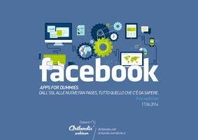 Facebook, apps for dummies (free webinar)