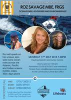 Roz Savage Talk: Stop Drifting, Start Rowing